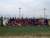 第一回新門司ラグビースクール コカ・コーララグビークリニック ヤングウェーブ北九州