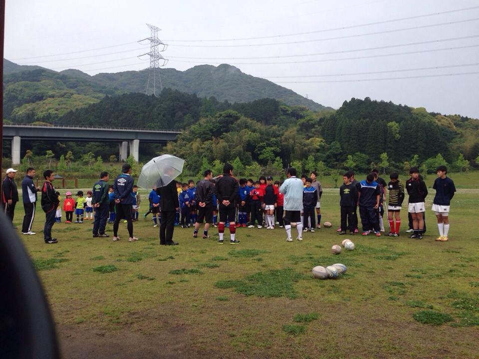 幼稚園・小学生・中学生ラグビースクール ヤングウェーブ北九州