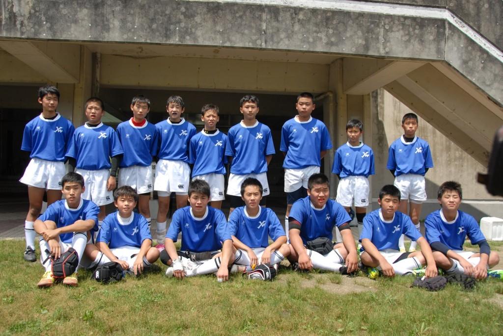 福岡県大会ラグビー ヤングウェーブ北九州