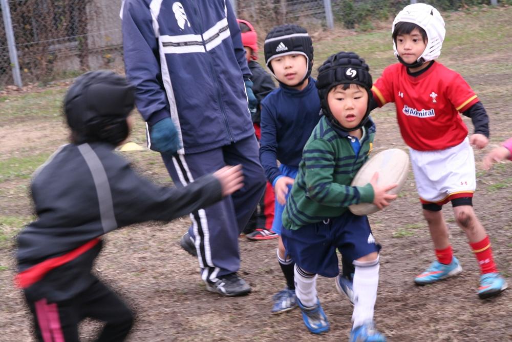 2015年12月クリスマス会_福岡県北九州市の少年少女ラグビースクールヤングウェーブ北九州021