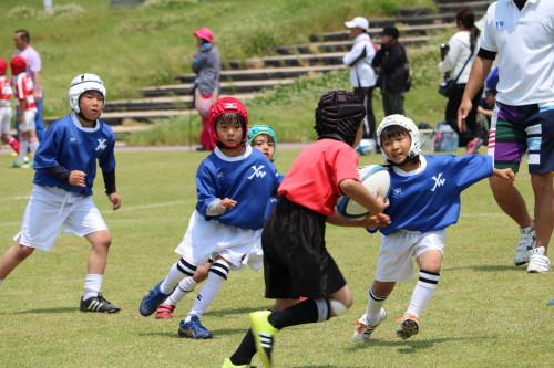 北九州市の少年少女ラグビースクールヤングウェーブ北九州