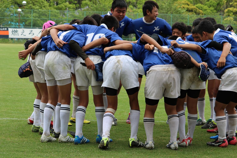 2016年6月5日(日) 第38回福岡県中学生ラグビーフットボール競技大会 鞘ヶ谷VSヤングウェーブ北九州