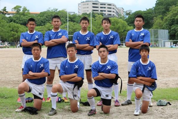 第38回福岡県中学生ラグビーフットボール競技大会 ヤングウェーブ