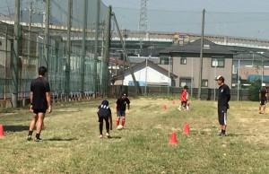 練習風景_北九州市の少年少女ラグビースクールヤングウェーブ北九州