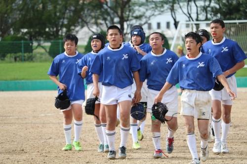 2016年10月23日(日) 第34回福岡県中学校ラグビーフットボール新人大会 ヤングウェーブ北九州