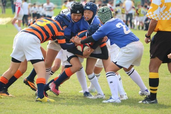 平成28年度福岡県小学生ラグビーフットボール大会 ヤングウェーブ北九州