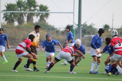 第34回福岡県中学校ラグビーフットボール新人大会 VSかしいYR