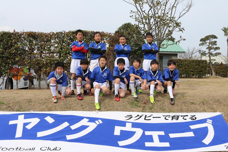 2017年2月26日(日)第29回福岡県小学生ラグビーフットボール新人大会 1日目