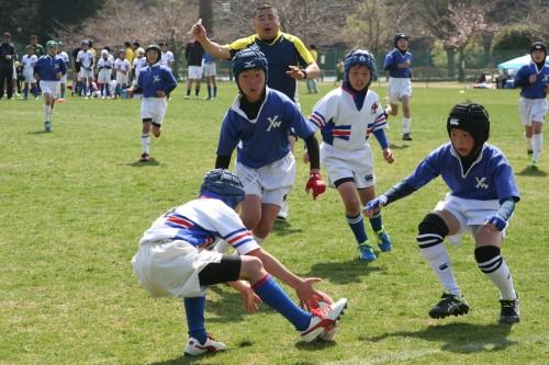 2017年4月1.2日 春日杯小学生ラグビーフットボール大会