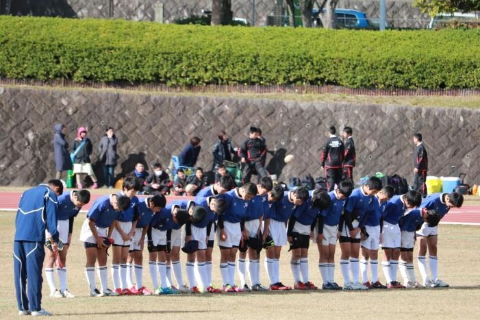 第35回福岡県中学生新人大会 VS輝翔館
