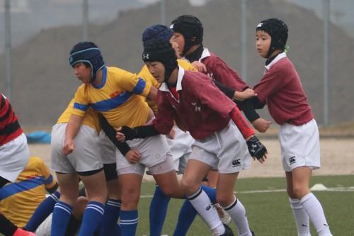 2018年2月10日(土)京築交流戦|北九州市小倉の少年少女ラグビースクール ヤングウェーブ